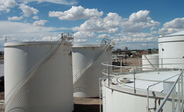 Vecenergy's most recent terminal acquisition is a bulk petroleum storage and distribution facility in Albuquerque, NM. The deal closed in the third quarter of 2011. (Photo by Craig Smith)