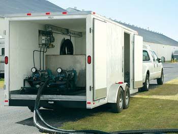 Hi-tech mobile equipment can be quickly transported to U.S. or offshore ports for expert additization services.