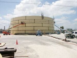 Massive Tank Farms Store & Distribute Petroleum Products