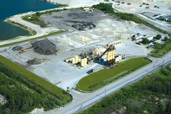 """Ranger Construction — South operates asphalt plants in Pompano Beach and Miami, FL (above). Both received """"Green Diamonds."""""""