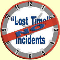 No Lost Time Incidents