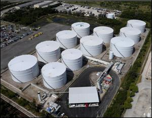 Vecenergy's Port Everglades petroleum terminal, totaling 1.35 million barrels of storage, operates under an exclusive lease agreement with Valero.